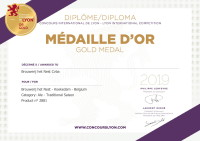 GOLD MEDAL KOEKEDAM  CONCOURS INTERNATIONAL DE LYON / LYON INTERNATIONAL COMPETITION