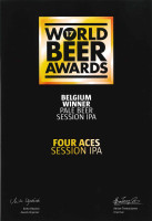 WBA 2017 Belgium Winner Four Aces Session IPA